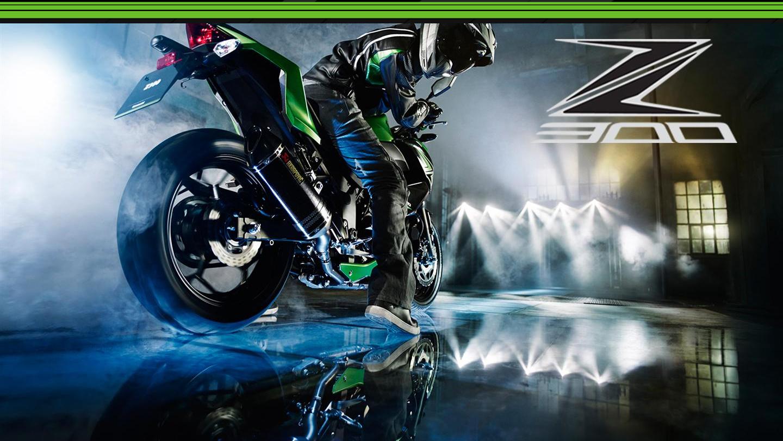 De nieuwe Kawasaki Z300